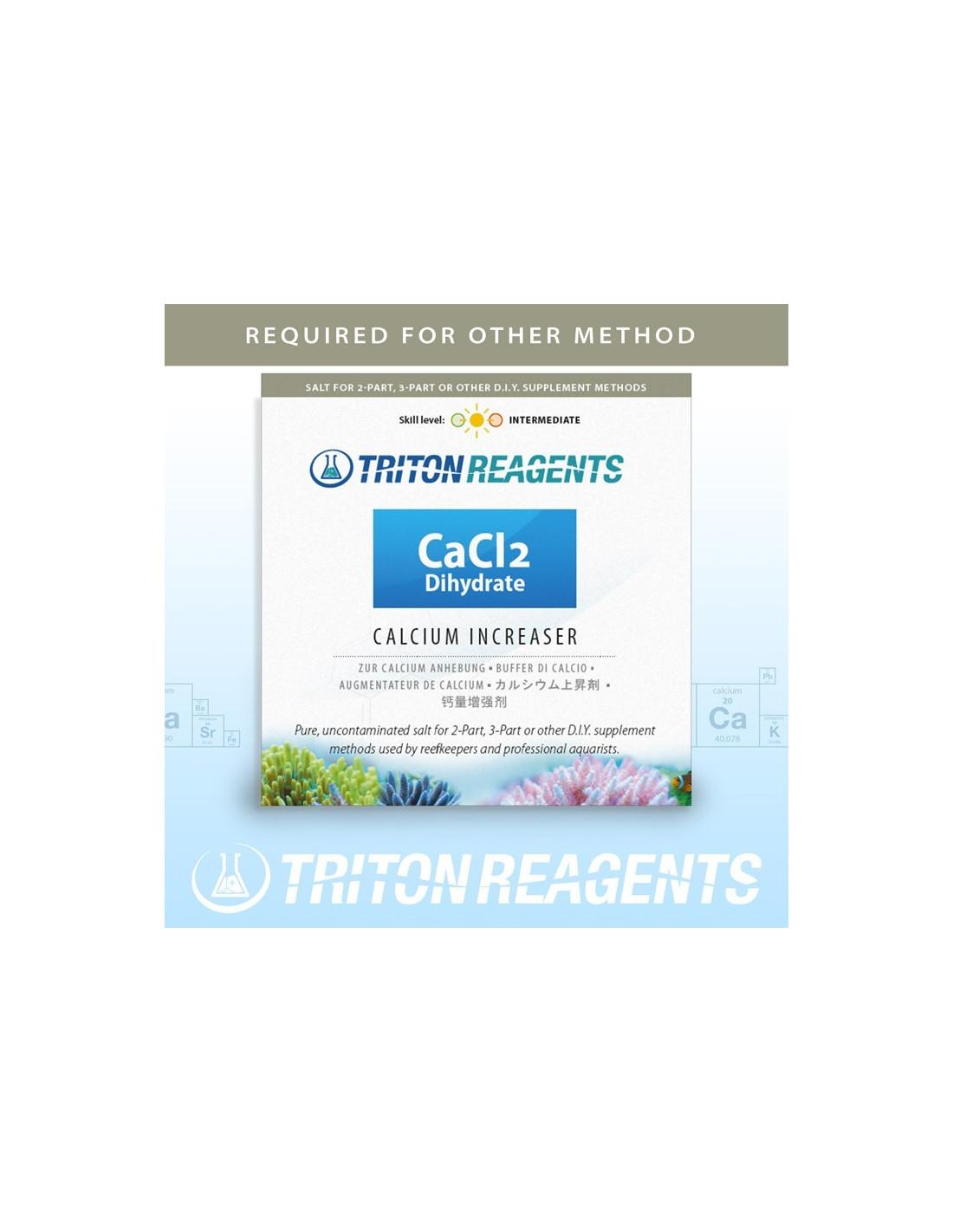 Triton Calcium Chloride Dihydrate, CaCl2 2H2O 4Kg